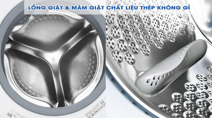 Lồng giặt Máy giặt Electrolux Inverter EWF1024BDWA 10 Kg