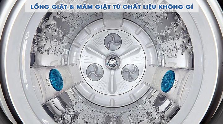 Lồng giặt Máy giặt LG Inverter T2555VSAB 15.5 Kg