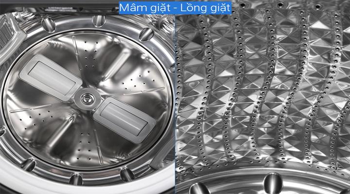 Lồng giặt Máy giặt Samsung Inverter WA-16R6380BV/SV 16 kg