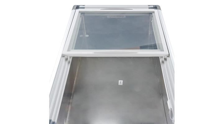 Lòng Tủ đông kính phẳng Alaska SC-4SD 220 lít