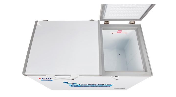 Lòng Tủ đông mát nắp dỡ Alaska BCD-6567N 471 lít