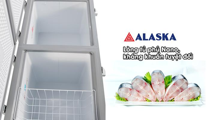 Lòng Tủ đông mát Alaska Inverter BCD-5068CI 312 Lít