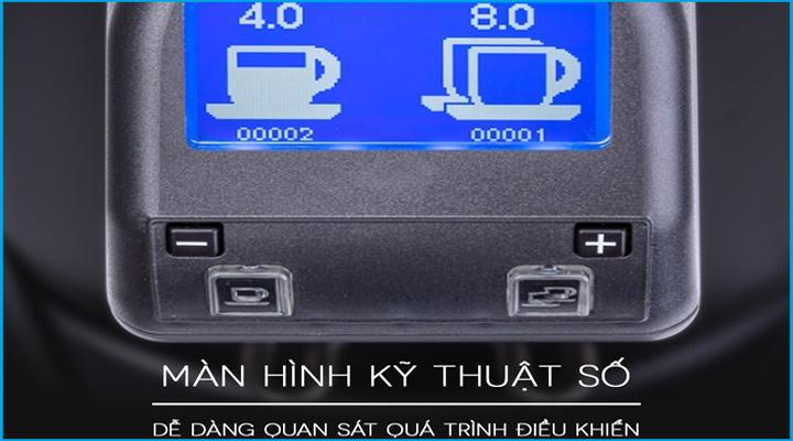 Màn hình Máy xay cà phê Eureka Zenith 65E High Speed