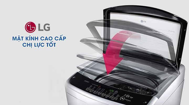Mặt kính Máy giặt LG Inverter T2555VS2M 15.5 kg