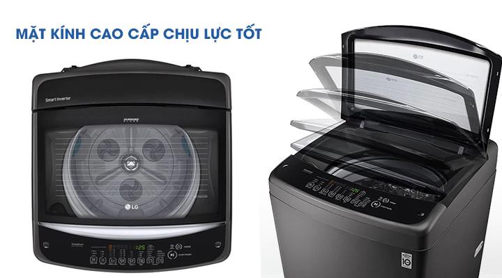 Mặt kính Máy giặt LG Inverter T2555VSAB 15.5 Kg