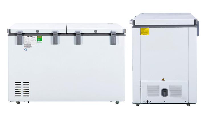 Mặt lưng Tủ đông mát Alaska Inverter BCD-5568CI 372 lít