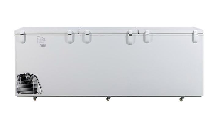 Mặt lưng Tủ đông nắp dỡ Alaska Inverter HB-1100CI 742 lít
