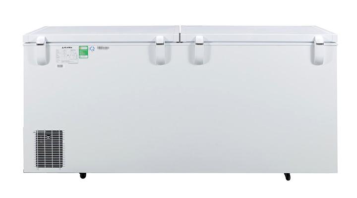 Mặt lưng Tủ đông nắp dỡ Alaska Inverter HB-550CI