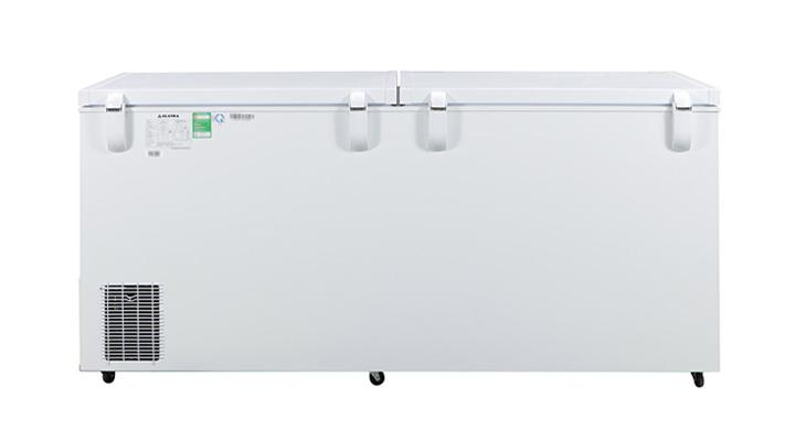 Mặt lưng tủ đông nắp dỡ Alaska Inverter HB-650CI 518 lít