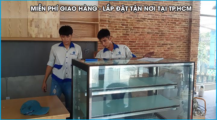 Miễn phí giao hàng tủ bánh kem tại TpHCM