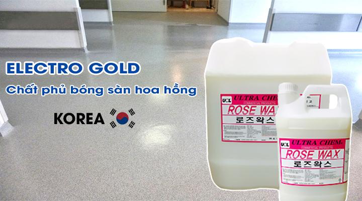 Chất phủ bóng sàn tiêu chuẩn hương hoa hồng ROSE WAX