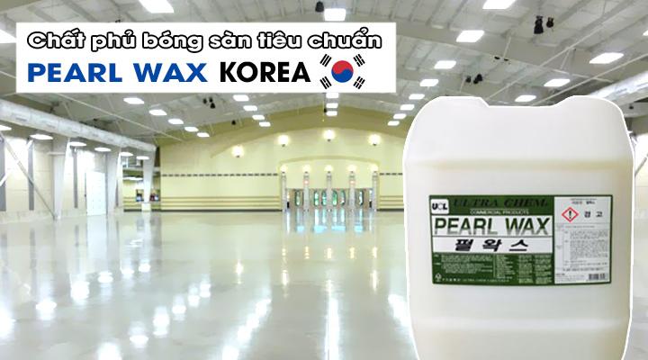 Chất phủ bóng sàn tiêu chuẩn PEARL WAX