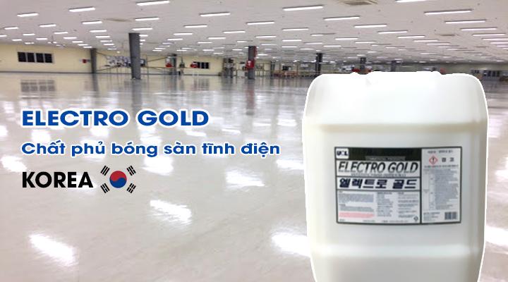Chất phủ bóng sàn tĩnh điện ELECTRO GOLD