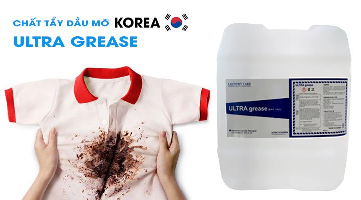 Hóa chất tẩy dầu mỡ trên vải ULTRA GREASE