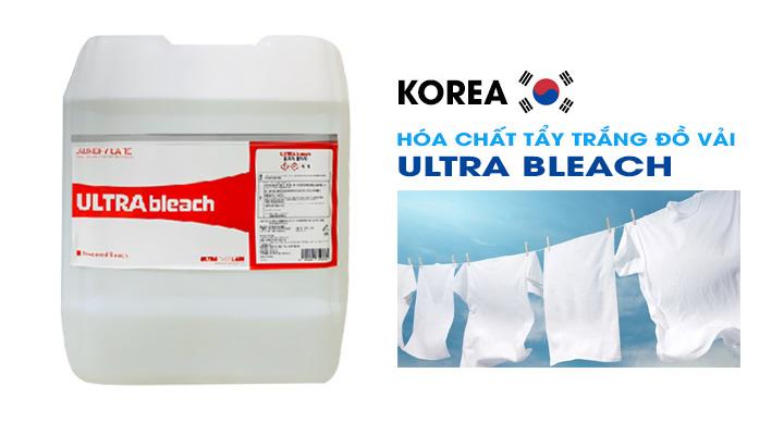 Mô tả Hóa chất tẩy trắng đồ vải ULTRA BLEACH