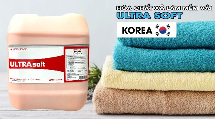 Mô tả Hóa chất xả làm mềm vải ULTRA SOFT