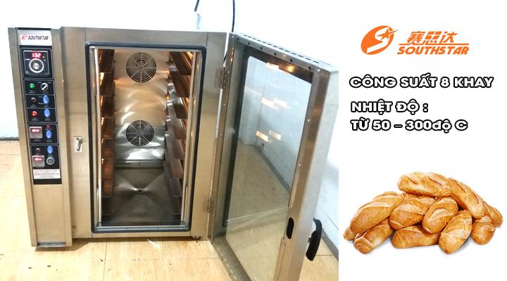 Lò nướng bánh đối lưu Southstar 8 khay