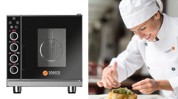 Lò nướng đa năng Sogeco MEG05ED102 5 Khay