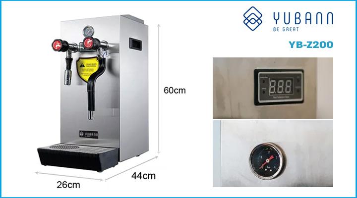 Mô tả Máy đun nước áp suất cao Yubann YB-Z200