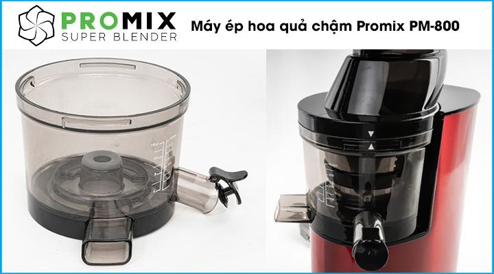 Mô tả Máy ép hoa quả chậm Promix PM-800