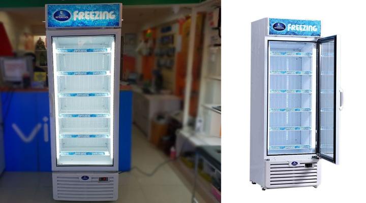 Mô tả Tủ đông đứng cánh kính Sanden Intercool SNR-0503 500 lít