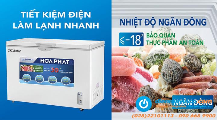 Mô tả Tủ đông Funiki Hòa Phát HCFI 516S1Đ1 Inverter 252 lít