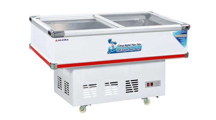 Mô tả Tủ đông kính phẳng Alaska SC-4SD 220 lít