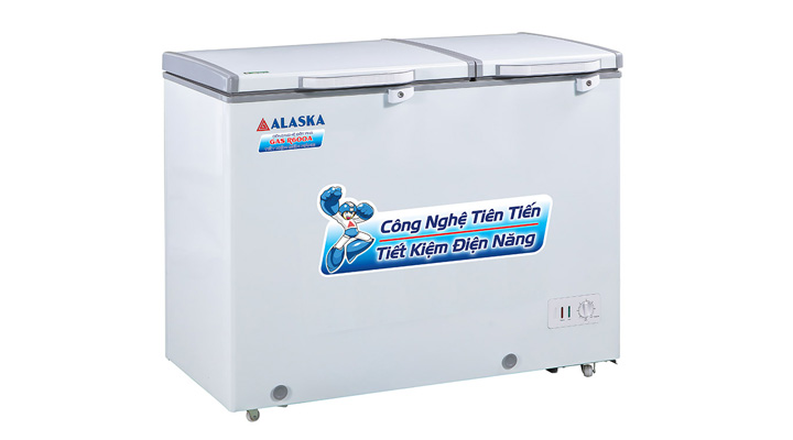 Mô tả Tủ đông mát nắp dỡ Alaska BCD-6567N 471 lít