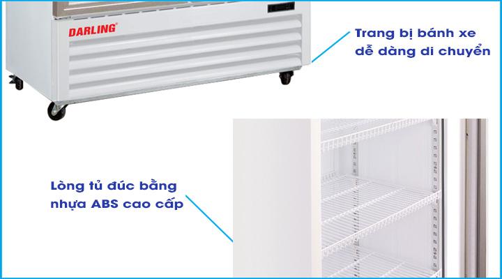 Chi tiết Tủ đông Darling DL-9000A
