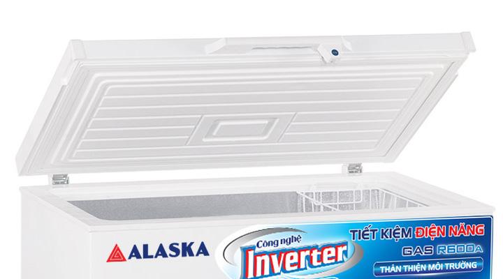 Cánh cửa Tủ đông nắp dỡ Alaska Inverter BD-400CI 295 lít