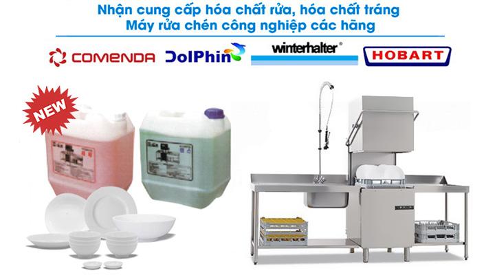 Nhà cung cấp hóa chất rửa tráng chén