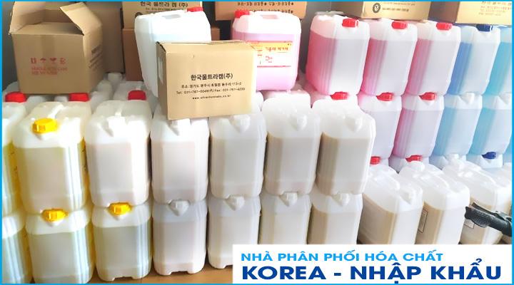 Nhà phân phồi hóa chất công nghiệp nhập khẩu chính hãng