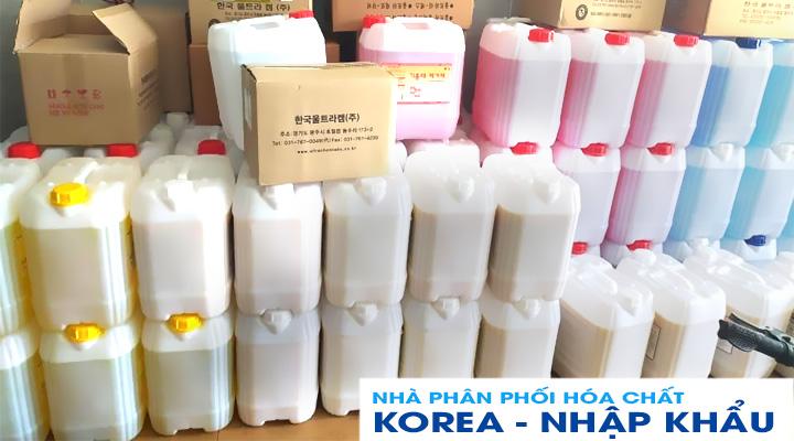 Nhà phân phối hóa chất Hàn Quốc chính hãng