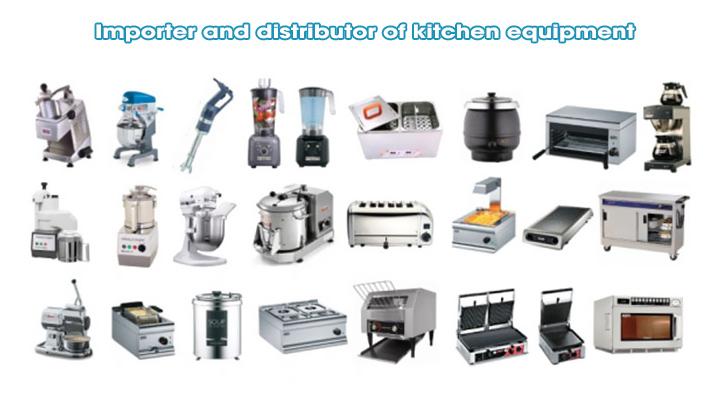 Nhà nhập khẩu và phân phối thiết bị bếp