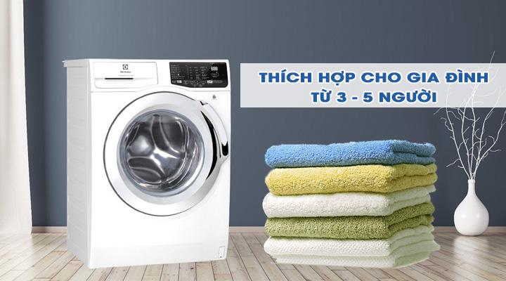 Máy giặt Electrolux Inverter EWF8025BQWA 8 kg