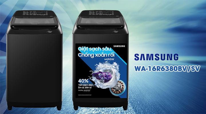 Nội dung Máy giặt Samsung Inverter WA-16R6380BV/SV 16 kg