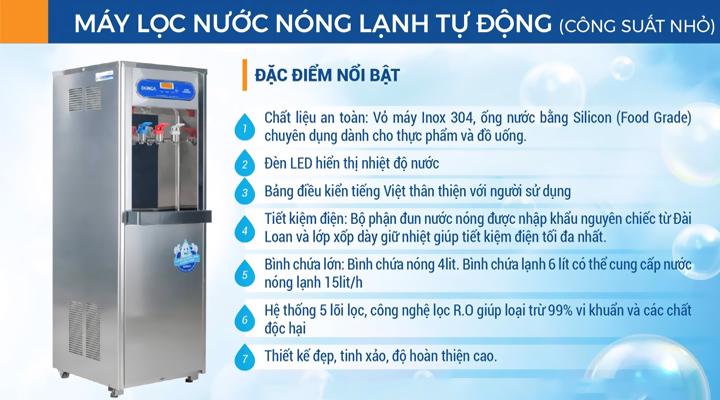 Máy lọc nước uống 3 vòi DONGA DAD-03