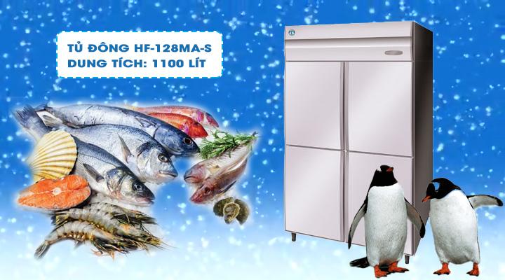 Tủ đông Hoshizaki HF-128MA-S 1100 lít