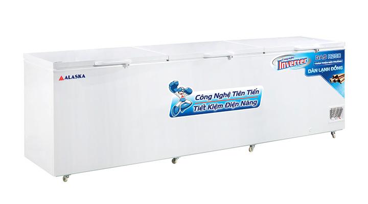 Tủ đông nắp dỡ Alaska Inverter HB-1500CI