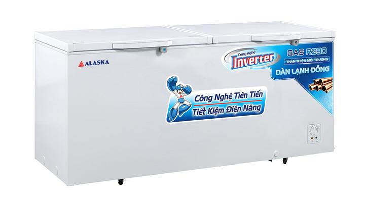 Tủ đông nắp dỡ Alaska Inverter HB-550CI