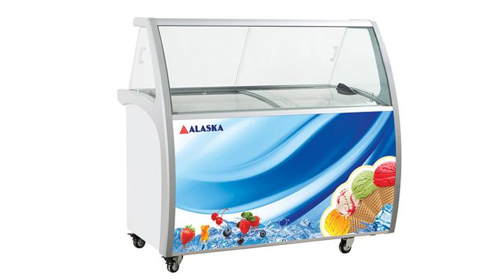 Tủ trưng bày kem Alaska ISG-12