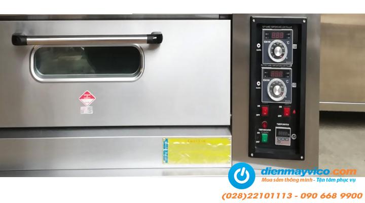 Bộ điều chỉnh Lò nướng bánh 2 tầng 4 khay Southstar dùng gas