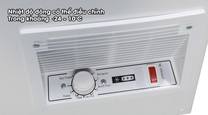 Nút điều chỉnh Tủ đông nắp dỡ Alaska Inverter HB-1100CI 742 lít