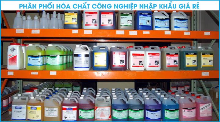 Phân phối hóa chất công nghiệp nhập khẩu