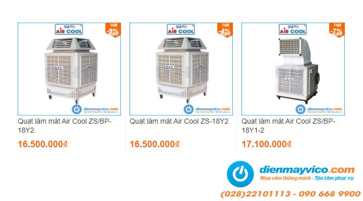 Quạt hơi nước Air Cool