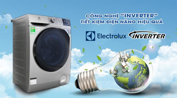 Tiết kiệm điện Máy giặt Electrolux Inverter EWF8024ADSA 8 kg