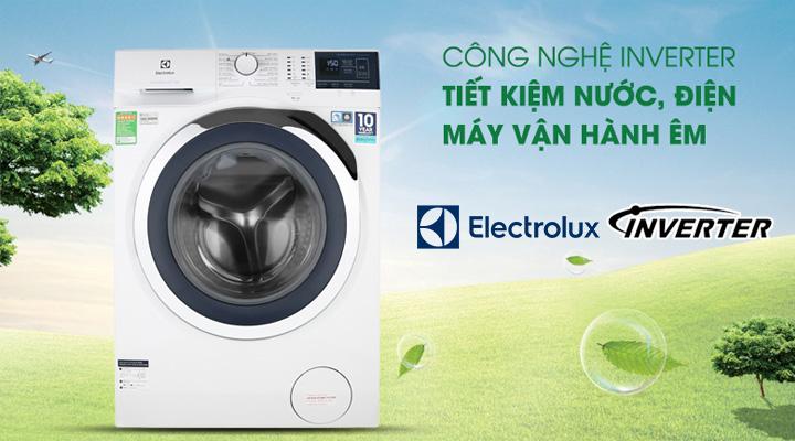 Tiết kiệm điện Máy giặt Electrolux Inverter EWF8024BDWA 8 kg