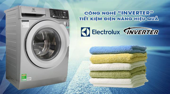 Tiết kiệm điện Máy giặt Electrolux Inverter EWF9025BQSA 9 kg