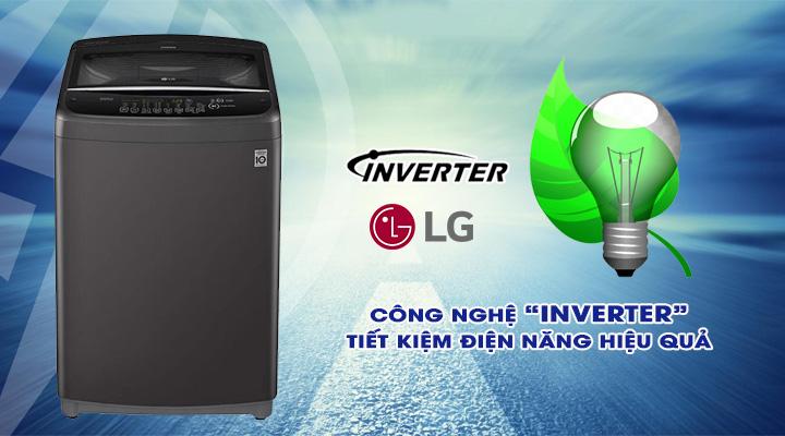Tiết kiệm điện Máy giặt LG Inverter T2555VSAB 15.5 Kg