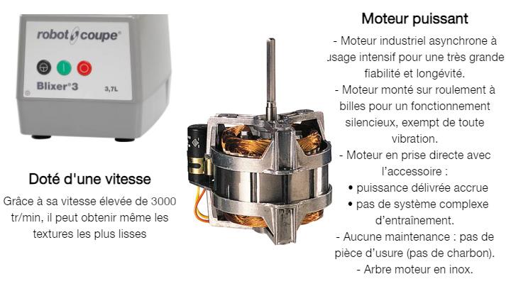 Tổng quan Máy cắt trộn Robot Coupe BLIXER 3D